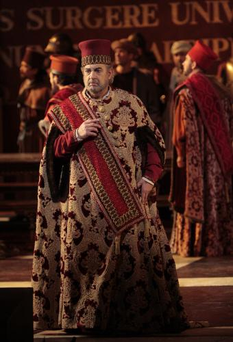 Plácido Domingo as Simon Boccanegra, LA Opera
